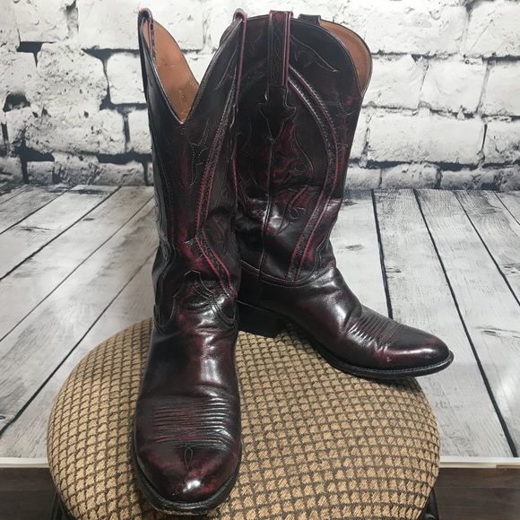 7130a0abbfd EUC Size 10 Lucchese Roper Boots $899